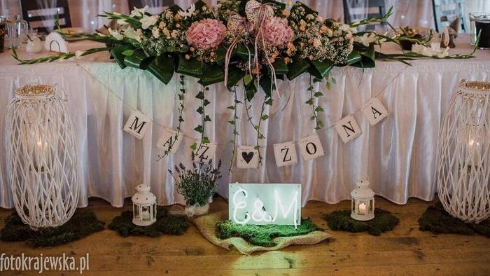 Neon na wesele i ślub