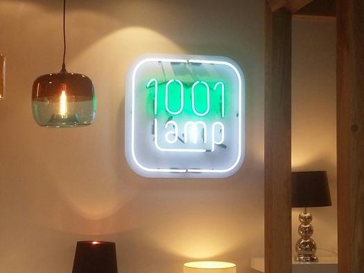 Neon reklamowy 1001 lamp