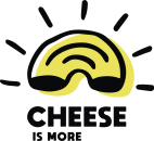 napis neonowy cheese is more